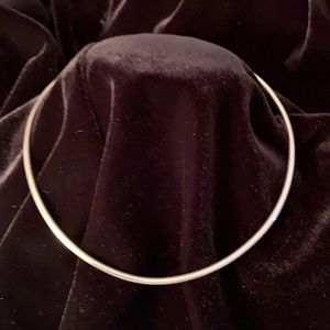Domina - Mistress  Rounded 925SS  Collar Necklace
